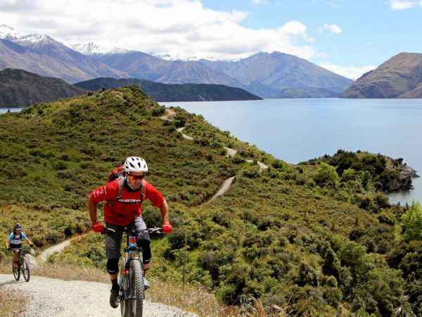 Mountain Biking Glendhu Bay Track Lake Wanaka 4 Gm 2400X1586